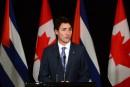 Justin Trudeau n'ira pas aux funérailles de Fidel Castro