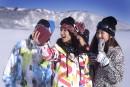 Skier au pays du Soleil levant