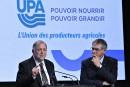 Agriculture: Couillard doit dégommer Pierre Paradis, demande l'UPA