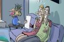Le mois de décembre en caricatures