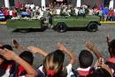 Les cendres de Castro retrouvent le berceau de sa révolution