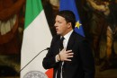Italie: MatteoRenzi annonce sa démission