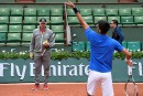 Becker: «Djokovic n'a pas assez travaillé ces derniers mois»