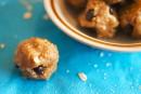 Bouchées à la pâte de biscuits crue