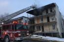 Incendie sur St-Louis: un individu est détenu