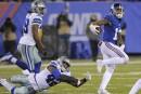 Les Giants mettent fin à la série victorieuse des Cowboys
