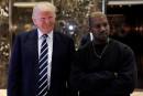 À peine sorti de l'hôpital, Kanye West reçu par Donald Trump