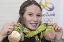 Penny Oleksiak remporte letrophée Lou-Marsh