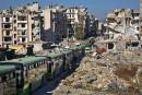 Premières évacuations d'Alep