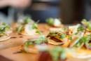 Pizza au chorizo et aux kakis Persimon