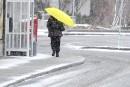 Neige et grésil mardi à Québec