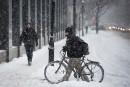 Neige et pluie verglaçante sur le Québec