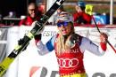 Lara Gut remporte le super-G de Val d'Isère