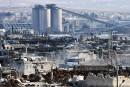 350 personnes quittent lesquartiers assiégés rebelles d'Alep