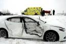 Carambolage sur l'autoroute 20 : un quinquagénaire blessé grièvement
