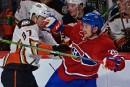 Victoire convaincante du Canadien face aux Ducks
