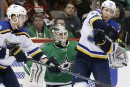 Les Blues battent les Stars 3-2 en prolongation
