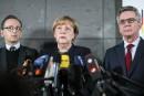 Attentat de Berlin: après les critiques, Merkel cherche à rassurer