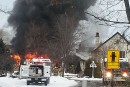 Incendie au spa Strøm de Mont-Saint-Hilaire