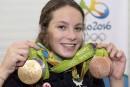 La nageuse Penny Oleksiak élue athlète féminine de l'année