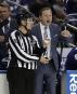 L'entraîneur du Lightning Jon Cooper exprime son mécontentement après qu'un... | 28 décembre 2016