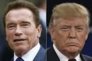 Arnold Schwarzenegger étrillé par Donald Trump