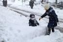 Istanbul paralysé par une tempête de neige
