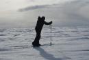 Sébastien Lapierre atteint le pôle Sud