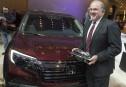 Salon de Détroit Jour 2 : le Honda Ridgeline nommé pick-up de l'année