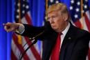 Donald Trump comme en campagne