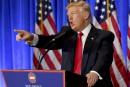 La conférence de presse agitée de Trump