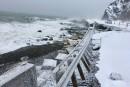 L'érosion atteint le point de non-retour en Gaspésie