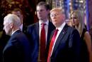 L'investiture de Trump sous haute sécurité
