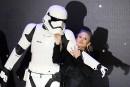 Star Warslaisse Princesse Leia partir avec Carrie Fisher