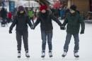L'ouverture de la patinoire du canal Rideau, en images