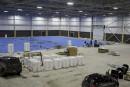 Le centre multisport d'Alma prêt à temps pour les Jeux du Québec