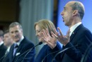 Les Québécois sortent du lot au débat conservateur en français