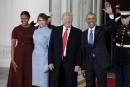 Trump à la Maison-Blanche pour une dernière rencontre avec Obama