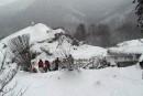 Avalanche en Italie:les secouristes gardent espoir