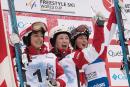 Les Canadiennes monopolisent le podium de Val Saint-Côme