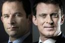 Primaire socialiste enFrance: BenoîtHamon et Manuel Valls au 2<sup>e</sup> tour