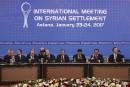 Négociations pour la paix en Syrie: aucune percée notable