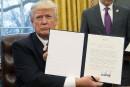 Trump marque la rupture avec Obama sur le libre-échange