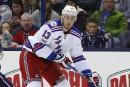 Rangers: Kevin Hayes ratera deux à trois semaines
