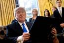Trump s'attaque à l'immigration et au mur avec le Mexique
