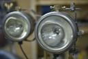 Les lampes steam-punk d'un soudeur