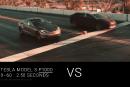 Vitesse électrique: Tesla bat Faraday Future à son propre jeu
