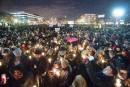 Une marée humaine à Montréal en solidarité pour les victimes de Québec