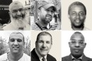 Portraits des six victimes