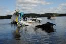 Accident d'avion au lac Geoffrion: l'écrasement et le sauvetage racontés